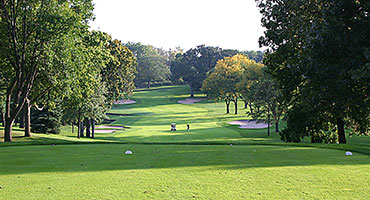 a view from the golf course at Elgin Country Club